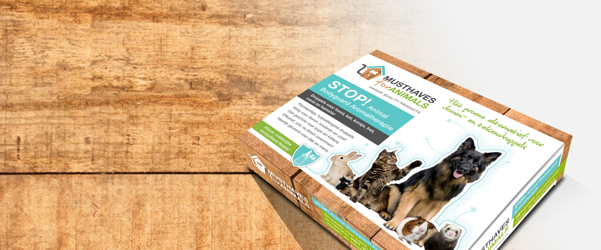 STOP! Animal Bodyguard Aromatherapie alternatief vlooien teken