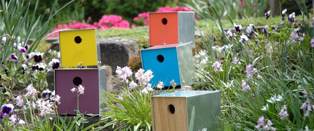 Vogelhuis nestkast duurzaam
