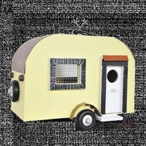 Vogelhuis caravan