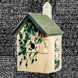 Vogelhuis berkenblad